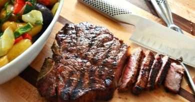 Herb-Rubbed T-Bone Steaks
