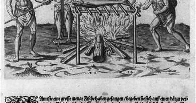 Barbecue Woodcut