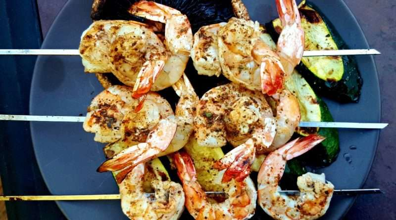 Grilled Za'atar Shrimp