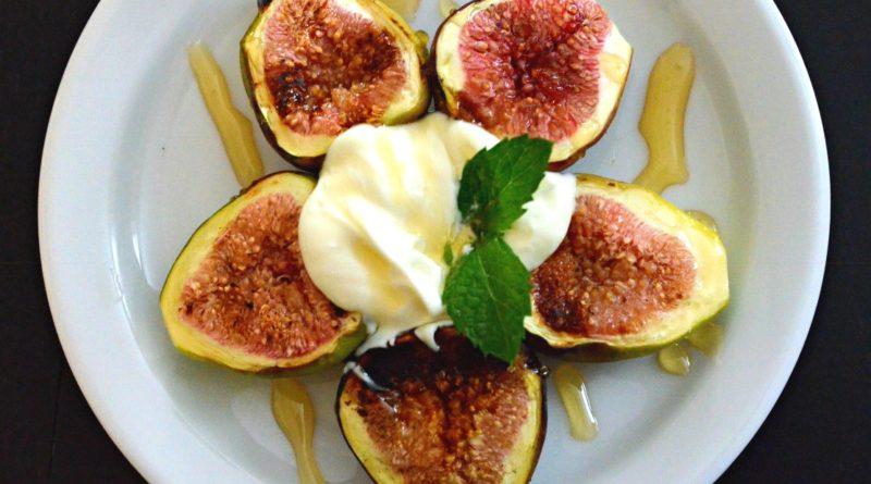 Grilled Fig Dessert