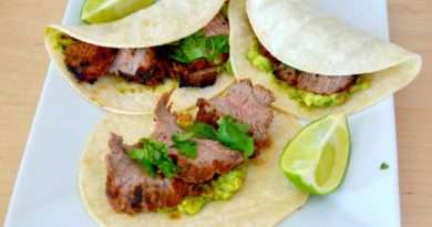 Quick and Easy Grilled Steak Tacos