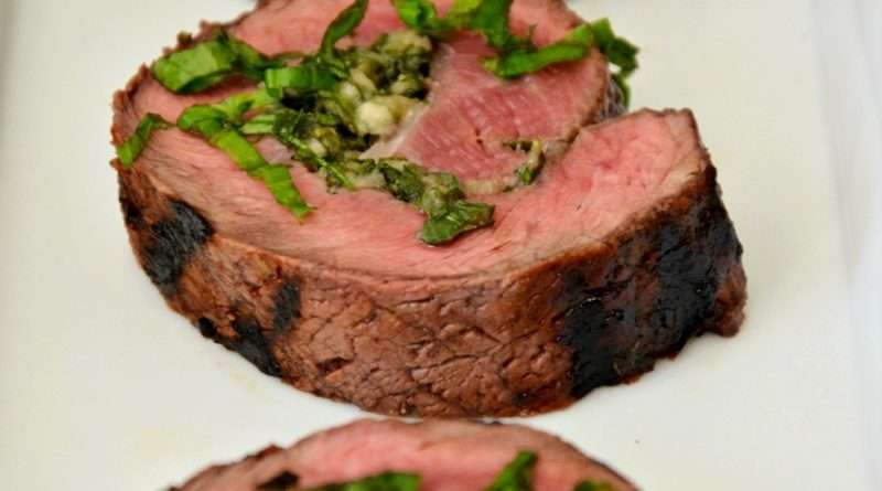 Steak Pinwheels with Chimichurri