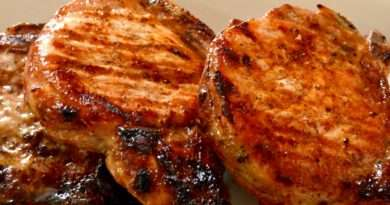 Brown Sugar-Balsamic Pork Chops