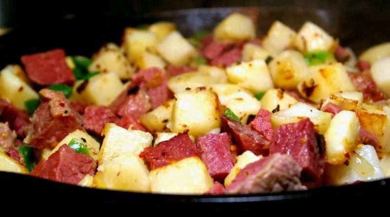 Cast-Iron Corned Beef Hash