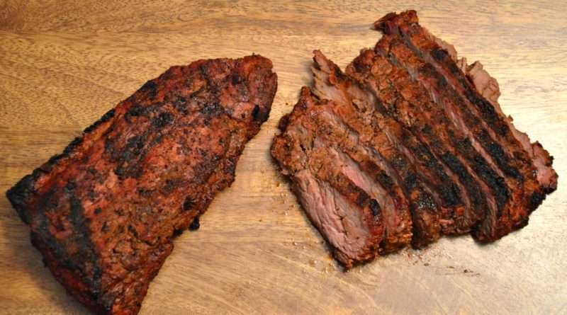 Grilled Sirloin Flap Steak