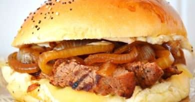 Mezcal Marinated Steak Sandwiches