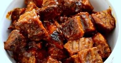 Texas Style Burnt Ends Sauce