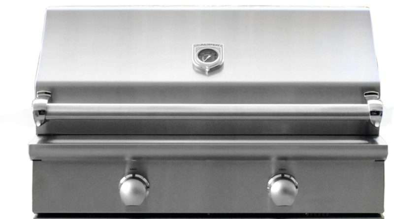 Caliber Crossflame Silver 35-Inch Built-in Gas Grill