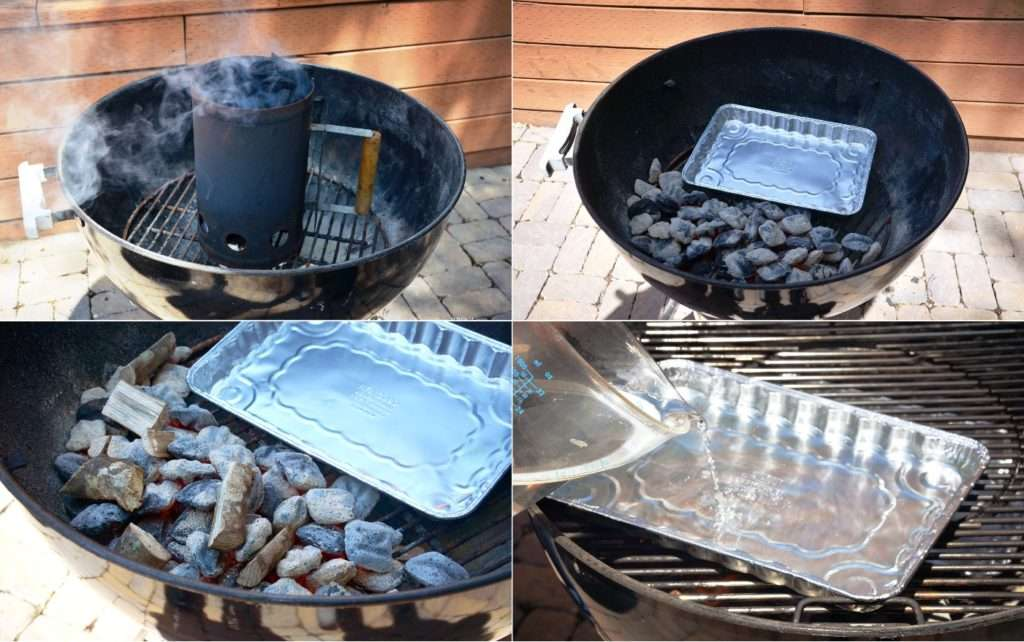 Setting up Charcoal Grill for Smoking