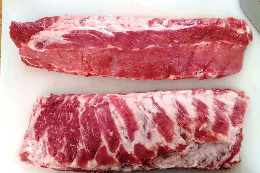 Spare Ribs versus Baby Back Ribs