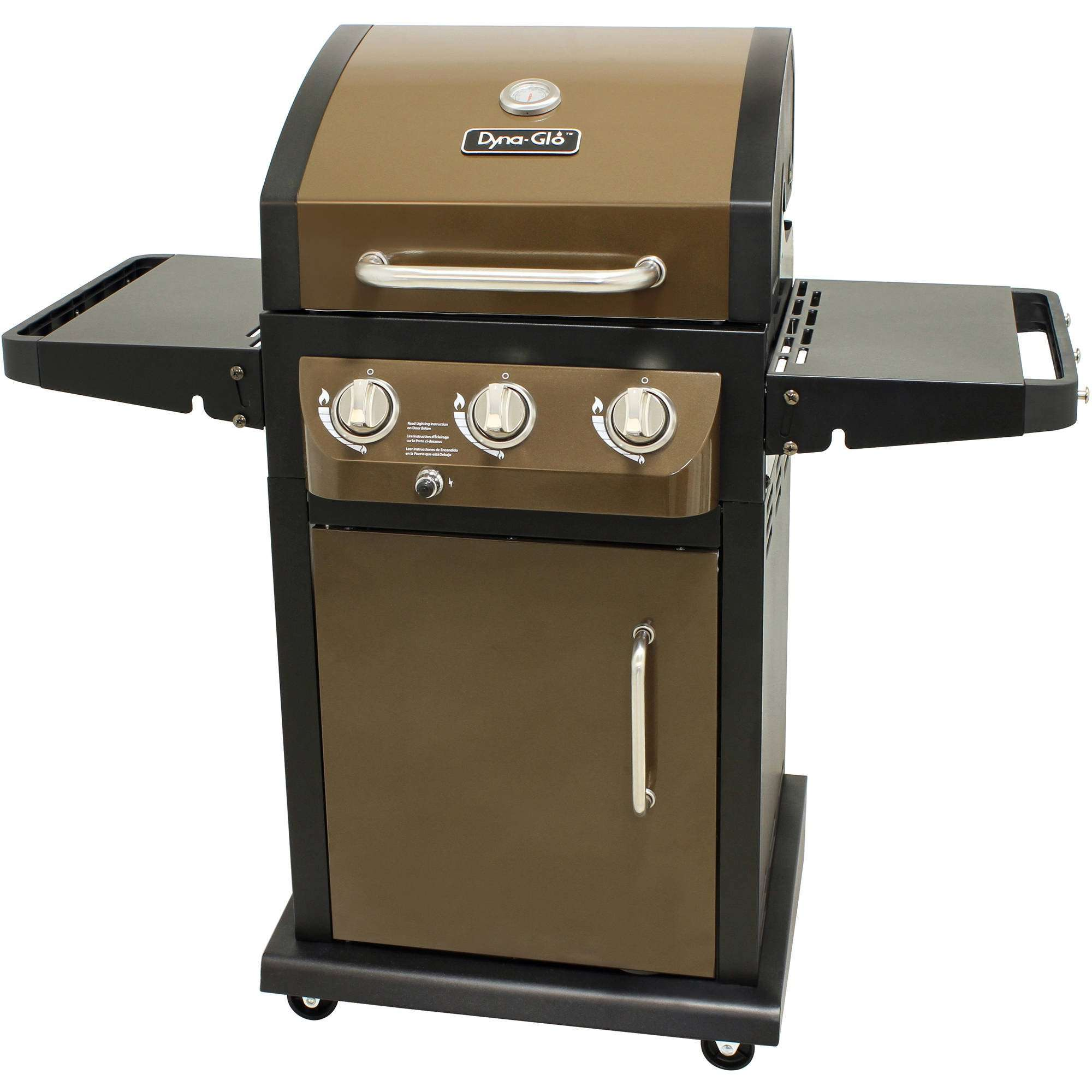 Dyna-Glo 3-Burner Smart Space Gas Grill