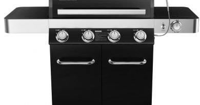 Monument 4-Burner Black