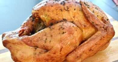 Lemon-Herb and Butter Rotisserie Turkey