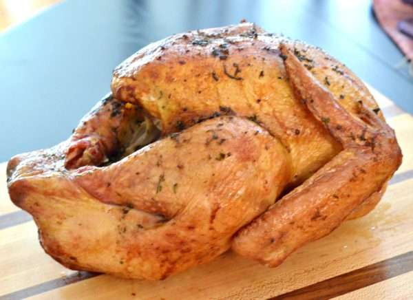 Lemon-Herb and Butter Rotisserie Turkey