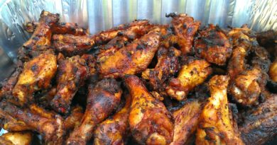 The Best Spicy Chicken Wings
