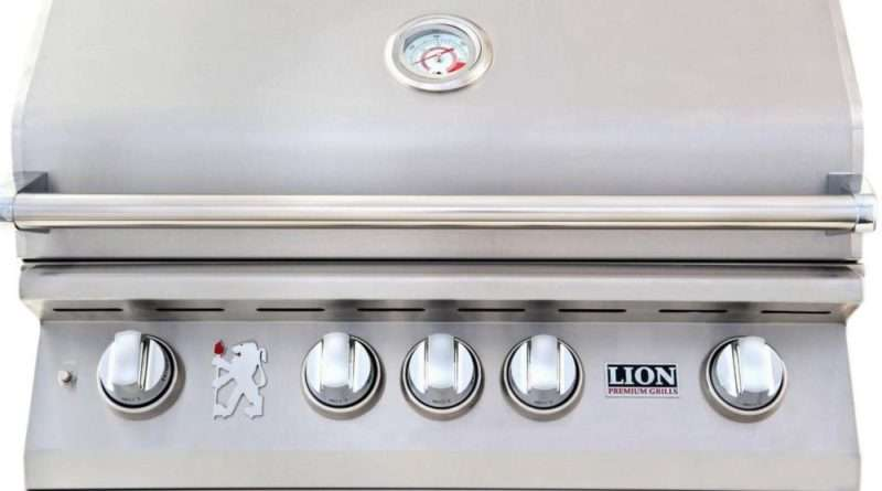 Lion 32-Inch Built-in Gas Grill