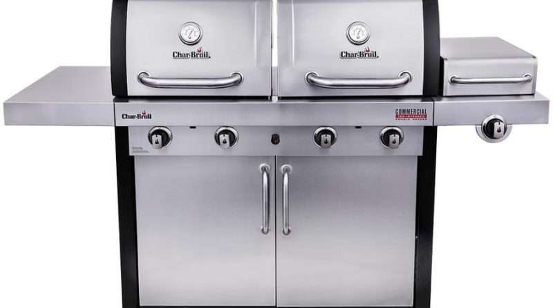 Char-Broil Commercial Double Header Tru-Infrared Gas Grill Model 463245518