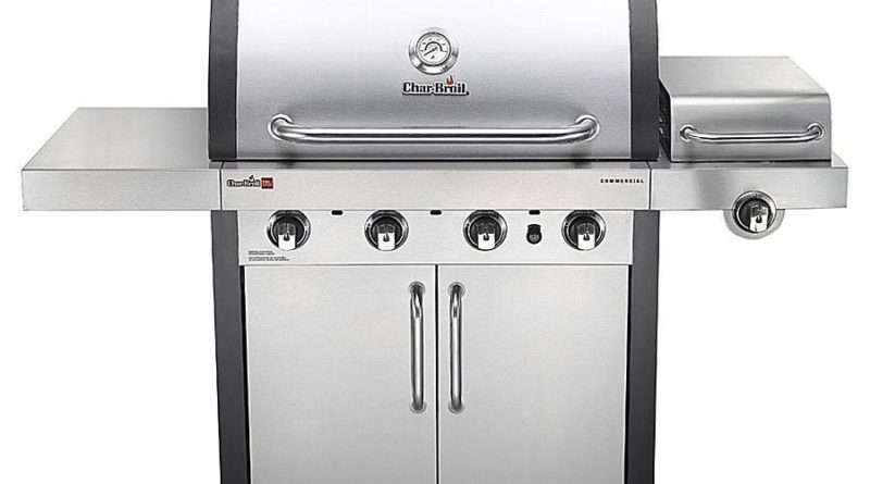 Char-Broil Commercial Infrared 4-Burner Gas Grill 463242716