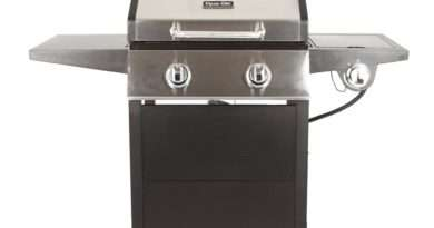 Dyna-Glo 2-Burner Open Cart Gas Grill Model DGF350CSP-D