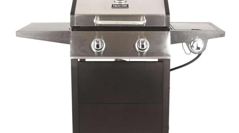 Dyna-Glo 2-Burner Open Cart Gas Grill Model DGF350CSP-D